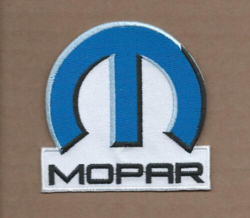 NEW 3 INCH MOPAR DODGE IRON ON PATCH FREE SHIPPING P1