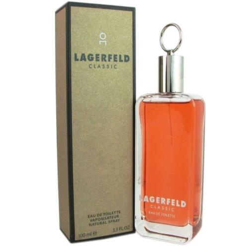 LAGERFELD CLASSIC by Karl Lagerfeld 3.3 / 3.4 Cologne New in Box