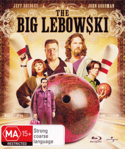 THE BIG LEBOWSKI Jeff Bridges - Blu-Ray DISC  + DVD  SirH70