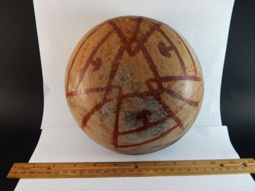 Museum Quality Latin or Native American  Southwestern Painted Aboriginal Bowl