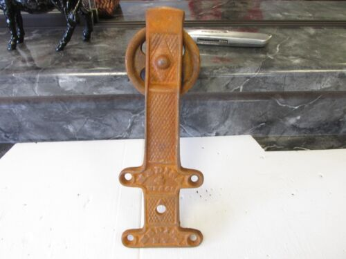 2  NEW  BARN SHED FARM DOOR   ROLLING  TRACK HANGER CAST IRON