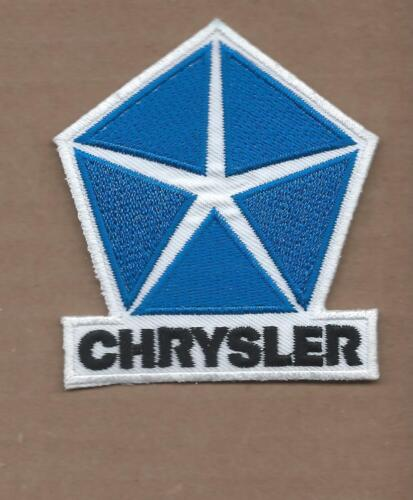 NEW 2 5/8 X 3 INCH CHRYSLER IRON ON PATCH FREE SHIPPING