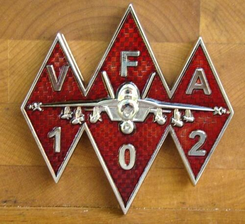 VFA-102 Diamondbacks F-18 Squadron Challenge Coin CPO Chief Petty OfficerOther Militaria - 135