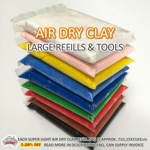 Air Dry Clay Large Refill  Soft Clay Super Light Modeling Air Clay Craft Tools
