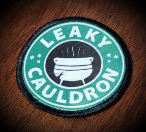 """3"""" Circle Leaky Caulldron  Harry Potter  Morale Patch tactical Military Army USAArmy - 48824"""
