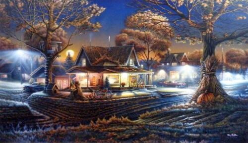 "Terry Redlin His First Date  Print 24"" x 14"""