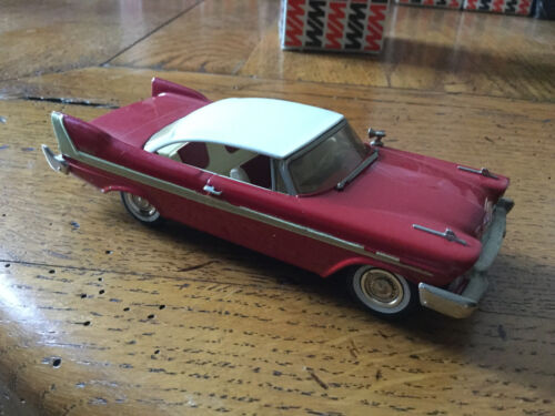 VOITURE MINIATURE WESTERN MODELS N° 51 PLYMOUTH BELVEDERE 1958