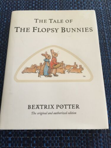 The Tale of the Flopsy Bunnies - Beatrix Potter (Hardback/DJ - 2002) - LIKE NEW