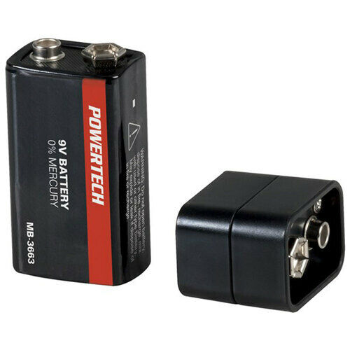 All-in-One Outdoor 9V Emergency Charger with Micro USB and Lightning Connector