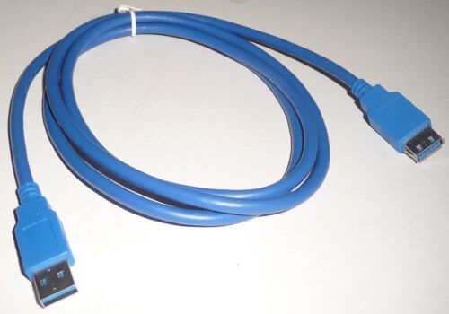 1.5m USB 3.0 A male to USB 3.0 A female EXTENSION CABLE Lead/wire/cord NEW 5ft