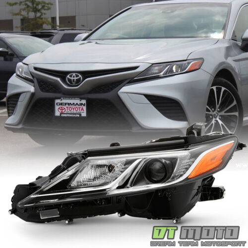 For 2018-2019 Toyota Camry L LE SE LED Projector Headlight Headlamp Driver Side <br/> Not Compatible with Factory Full LED Headlight Models