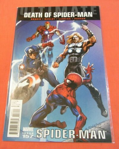 ULTIMATE SPIDER-MAN #157 (2009 series) - Un-read issue..