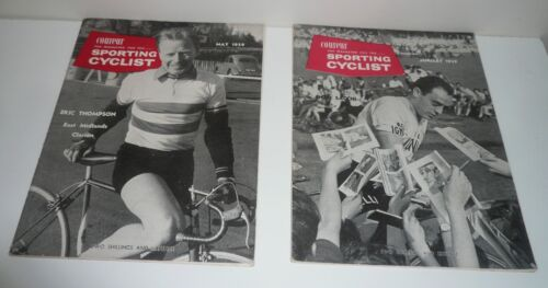 VINTAGE COUREUR SPORTING CYCLIST MAGAZINES MAY & JANUARY  1959
