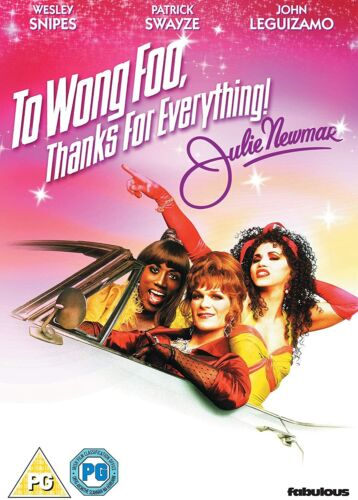 TO WONG FOO THANKS FOR EVERYTHING JULIE NEWMAR DVD  REGION 4   PATRICK SWAYZE
