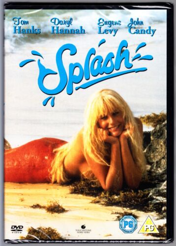 SPLASH (1984) DVD COMEDY  TOM HANKS DARYL HANNAH & JOHN CANDY  REGION 4  NEW!
