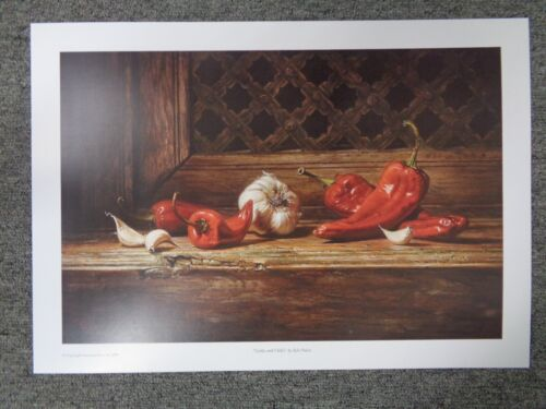 Kyle Polzin Garlic and Chili's  Open Edition paper print   Kitchen