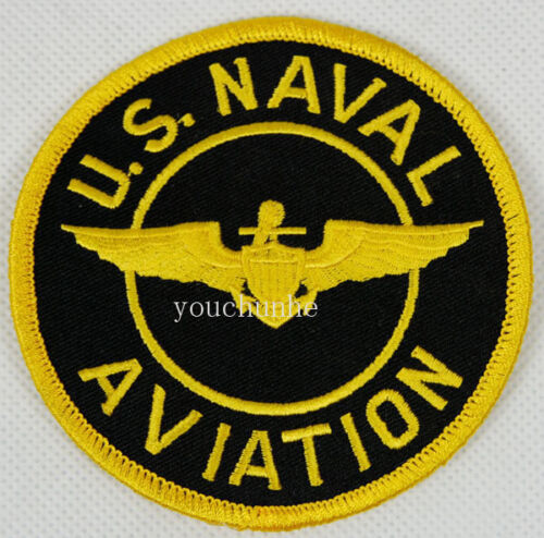 US NAVAL AVIATION EMBROIDERED MILITARY BADGE PATCH -32263Reproductions - 156452