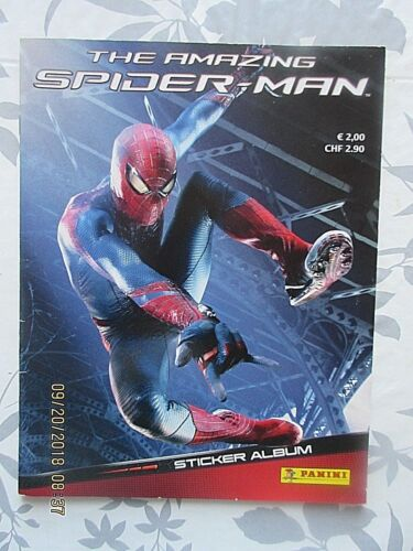 The Amazing Spiderman Panini 2012 nur 6 Sticker fehlten sauber geklebt