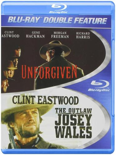 UNFORGIVEN / The OUTLAW JOSEY WALES   BLU RAY  CLINT EASTWOOD DOUBLE 2 DISCS