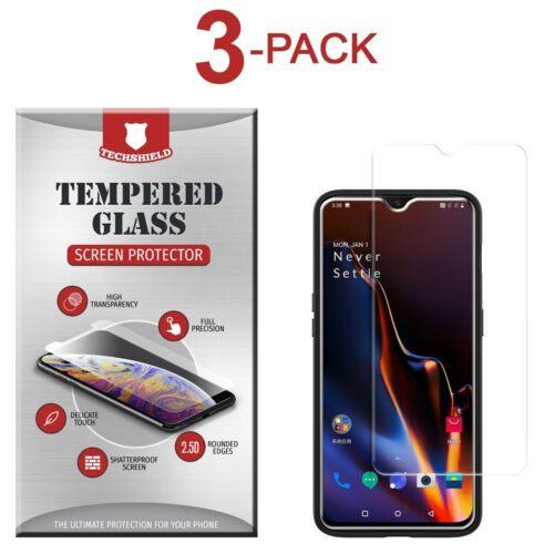 (3-Pack) Tempered Glass Film Screen Protector For Oneplus 6T