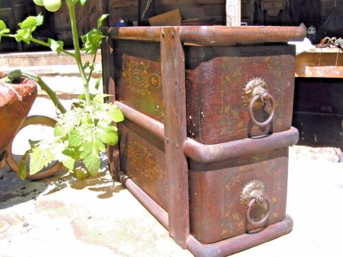 Antique Treadle Sewing Machine Drawers 2085