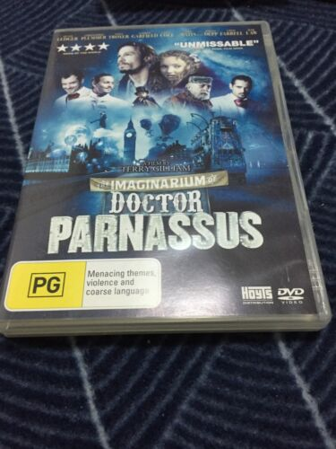 THE IMAGINARIUM OF DOCTOR PARNASSUS - HEATH LEDGER - LIKE NEW DVD