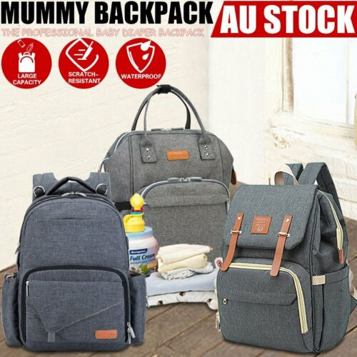 Luxury Multifunctional Baby Diaper Nappy Backpack Waterproof Mummy Changing Bag <br/> Multifunctional◇High Quality◇Fast Postage◇AU Seller