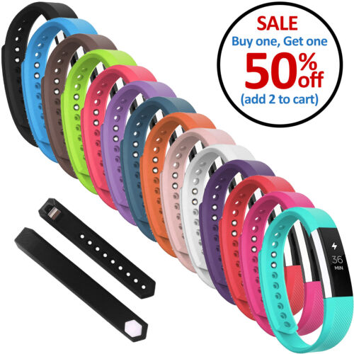 Replacement Silicone Wrist Band Strap For Fitbit Alta / Fitbit Alta HR <br/> BUY 1, GET 1 50% OFF (Limited Time Offer) - USA SELLER