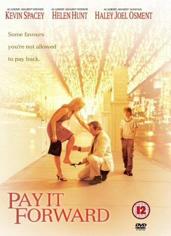 PAY IT FORWARD (2000) HELEN HUNT KEVIN SPACEY REGION 4 DVD NEW & SEALED
