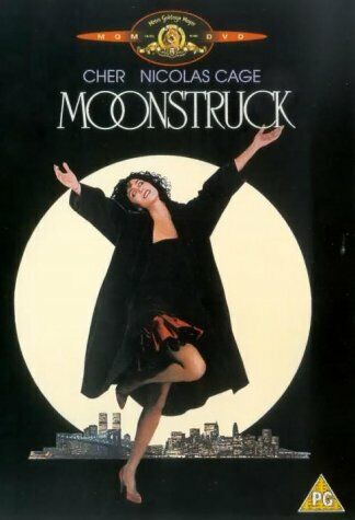 MOONSTRUCK (1987) Cher / Nicholas Cage DVD Region 4 New & Sealed!