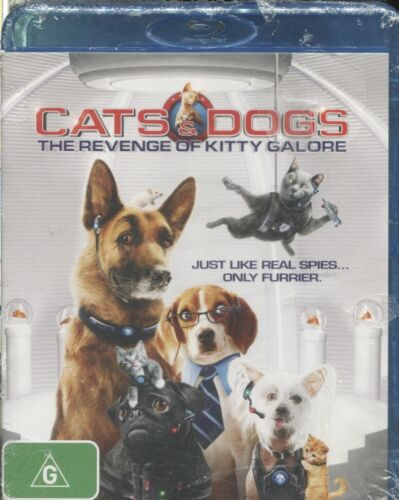 Cats & Dogs 2 - The Revenge Of Kitty Galore (Blu-ray, 2011)  Bette Midler