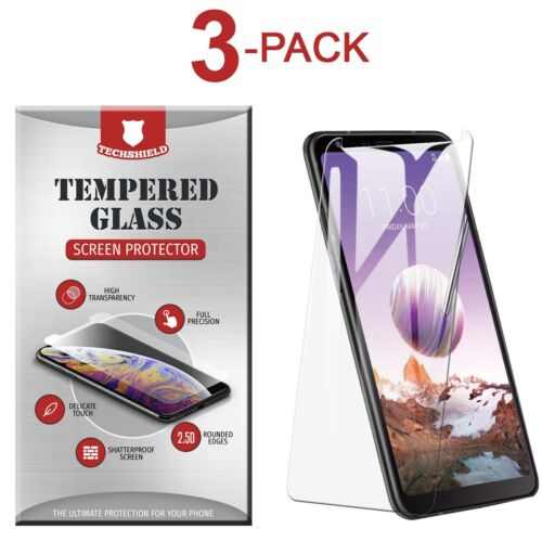 3-Pack Tempered Glass Screen Protector Film for LG Stylo 5
