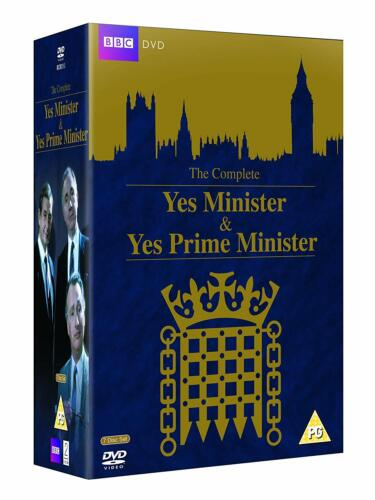 YES MINISTER & YES PRIME MINISTER Complete Collection DVD Region 4 New & Sealed
