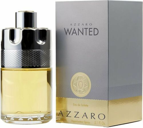 Azzaro Wanted by Azzaro cologne for him EDT 5.1 oz New in Box