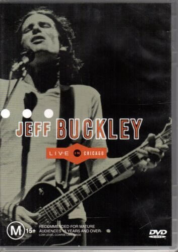 JEFF BUCKLEY - LIVE IN CHICAGO 1995 - DVD R4 (Sony Music 2000) VG - FREE POST