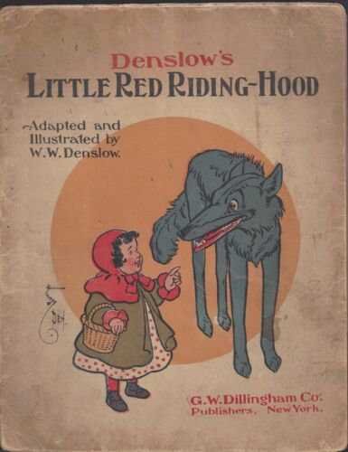 Denslow's Little red riding hood GW Dillingham co 1903 softcover book gr8t art