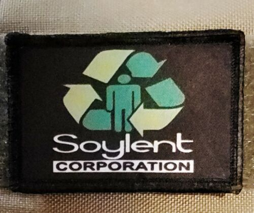 Soylent Corporation Morale Patch Funny Tactical Military Army USA Soylent Green Army - 48824