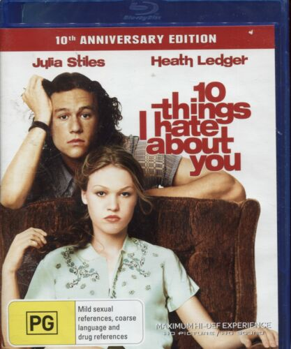 10 Things I Hate About You - Heath Ledger, Julia Stiles - Blu-Ray