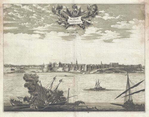 1686 Dapper View of Tripoli, Libya