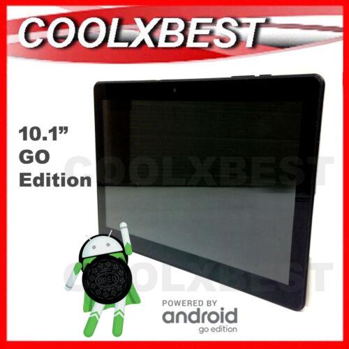 """10.1"""" ANDROID 8.1 GO EDITION TABLET PC TAB HD QUAD CORE 16GB WiFi BLUETOOTH"""