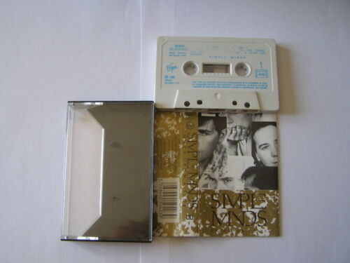 K7 cassette audio tape simple minds once upon a time