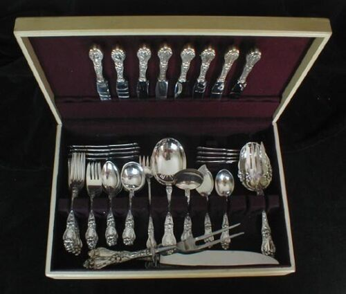 Frank Whiting FLORAL / LILY 57 pc. set for 8