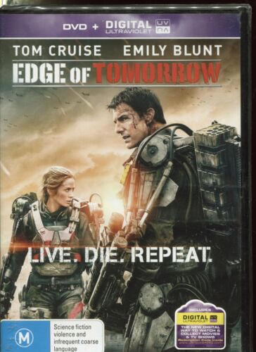 EDGE OF TOMORROW - Tom Cruise, Emily Blunt, Bill Paxton - DVD