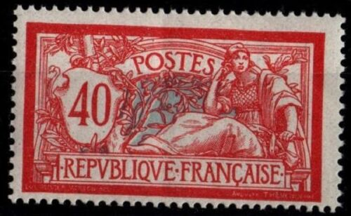 MERSON 40 c rouge, Neuf * = Cote 16 € / Lot Timbre France n°119