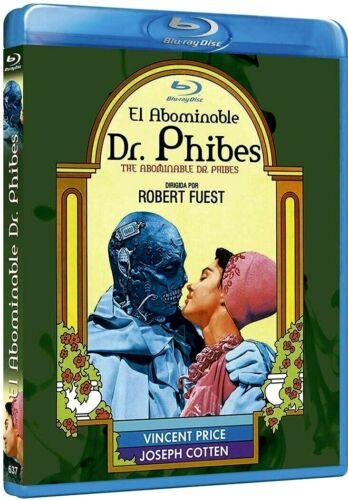 EL ABOMINABLE DR. PHIBES (THE ABOMINABLE DR.PHIBES) CINE DE TERROR -BLURAY NUEVO
