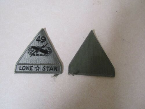 Patch Military Shoulder Acu Hook And Loop 49th Armored Division Lone Star