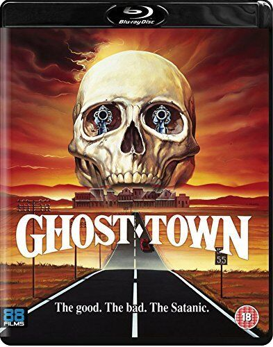 GHOST TOWN (1988) BLU RAY 80'S HORROR / WESTERN  CULT MOVIE Region B New & Seal