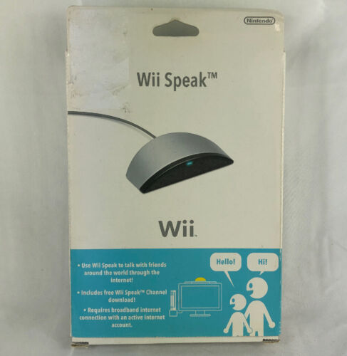 Wii Speak USB Microphone for Wii Console - Like New (Unopened) (J2)