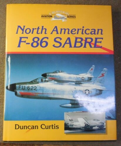 2000 North American F-86 Sabre History Book Signed Crowood Aviation SeriesOther Militaria - 135