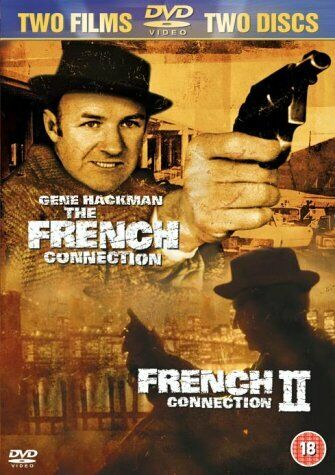 The French Connection 1 & 2 DVD () Region 4 New & Sealed